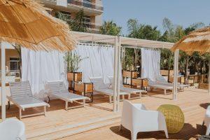 Zona de relajación del hotel temático palas pineda, Tarragona