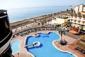 piscina de hotel temático para niños