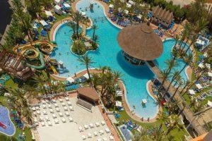 Hotel temático con toboganes en Alicante Playa